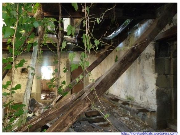 Interior de les estances enrunades del Sunyer de Baix